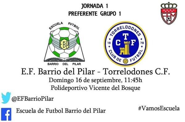 Jorge Pires y Carlos Torres se incorporan al proyecto en Preferente de la E.F. Barrio del Pilar