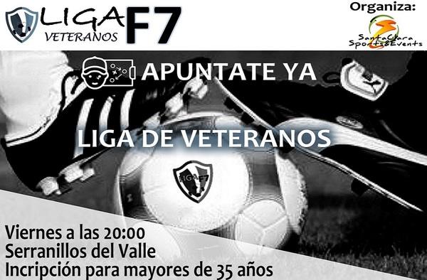Liga de Veteranos F-7 en Serranillos del Valle - A partir del 19 de octubre de 2018