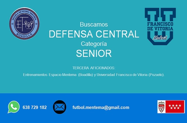 La EF Mentema Boadilla busca un defensa central para la temporada 2018/19