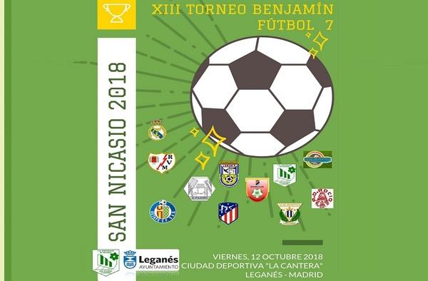 XIII Torneo Benjamín Fútbol-7 San Nicasio 2018