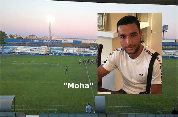 Debutó con el C.D. Móstoles URJC, el jugador frances Moha Moussaddek