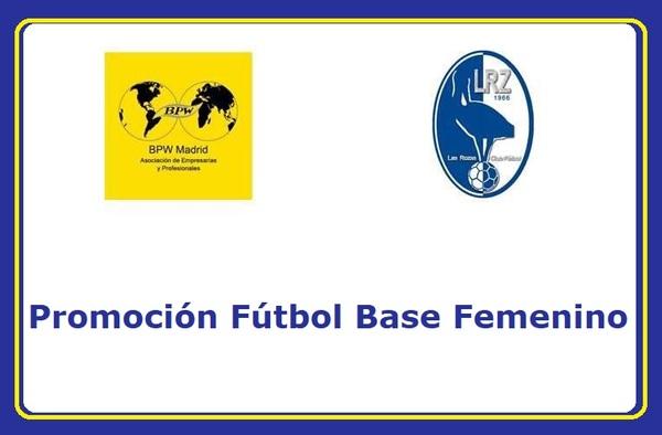 Las Rozas CF y BPM-Madrid, se unen para la promoción del Fútbol Base Femenino