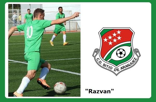 Razvan Aldrofan, nuevo refuerzo del C.D. Sitio de Aranjuez para la temporada 2018/19