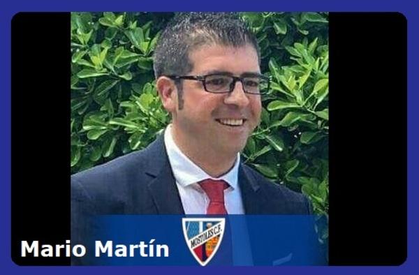 Mario Martín sustituye en el banquillo del Móstoles C.F. a Jesús Segovia
