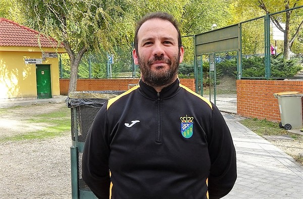 Entrevista a Nacho Herrero, técnico del C.D. Villanueva de la Cañada  (Temporada 2018/19)