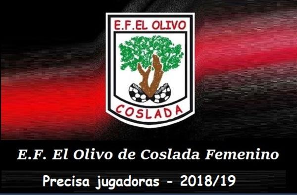 La E.F. El Olivo de Coslada busca jugadoras para su equipo Femenino de Preferente - Temporada 2018/19