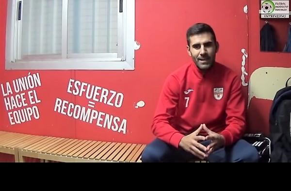 """Entrevista a David González """"Gonza"""", jugador de Los Santos de la Humosa CF (Temporada 2018/19)"""