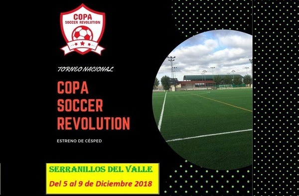 """Serranillos del Valle acoge el Torneo de Fútbol Base """"Copa Soccer Revolution"""""""