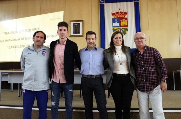 Presentado oficialmente el convenio del AD Nuevo Versalles Loranca con el Atlético de Madrid