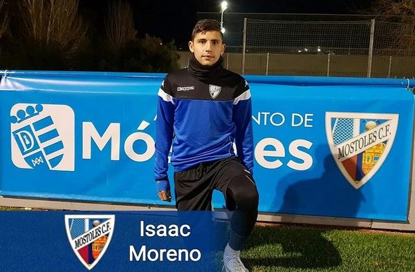 El delantero Isaac Moreno se incorpora al Móstoles C.F. cedido por el Villaverde San Andrés