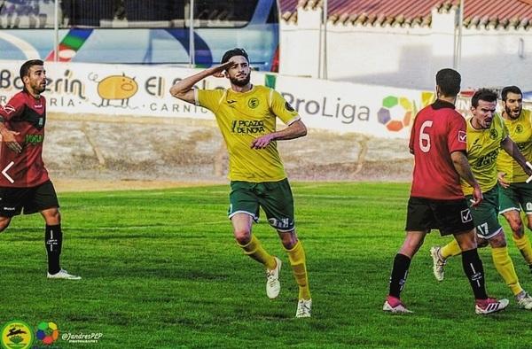 El Atlético de Pinto refuerza su delantera con David Amorin