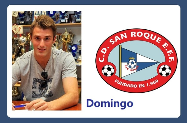 El C.D. San Roque EFF sigue reforzándose, llega el delantero Marcos Domingo
