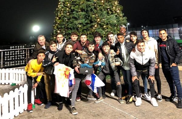 Los dos equipos de la Academia Intersoccer marchan líderes en sus respectivas competiciones al finalizar 2018