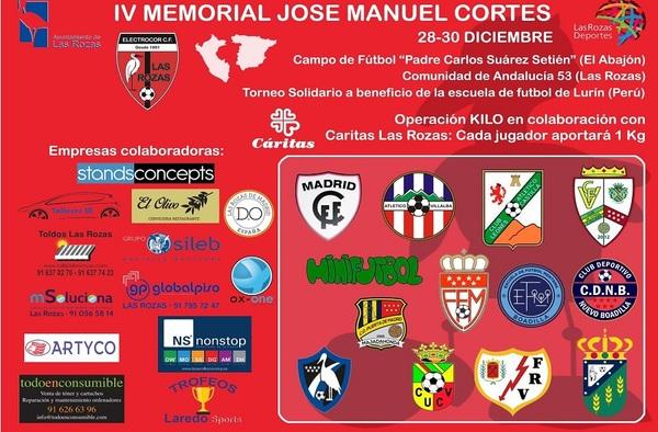 Torneo de Navidad Solidario - IV Memorial José Manuel Cortés, organizado por el Electrocor Las Rozas