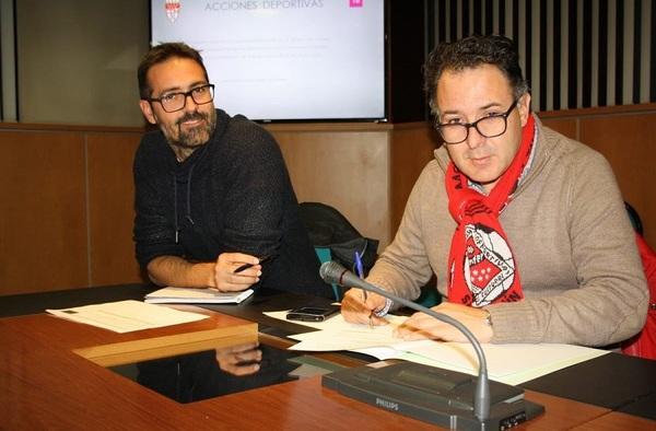 La ADC San Fermín firma el convenio de Escuela Federativa de la RFFM