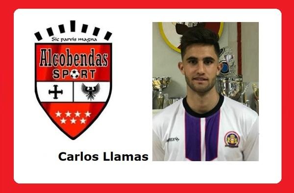 Carlos Llamas entró en la convocatoria del Alcobendas Sport en el partido ante el C.D. Vicálvaro
