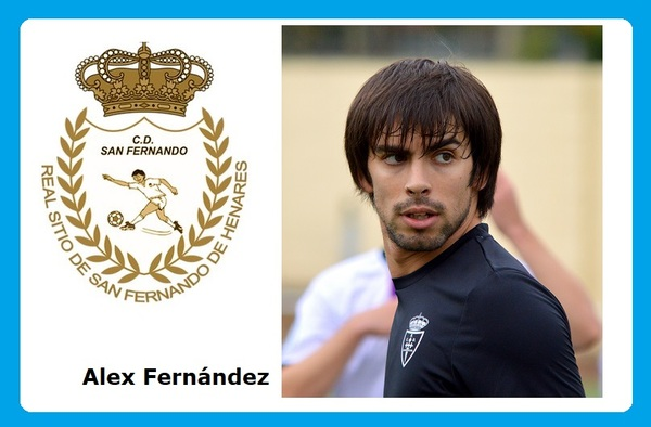 El delantero Alex Fernández recala en el C.D. San Fernando como refuerzo para la segunda vuelta