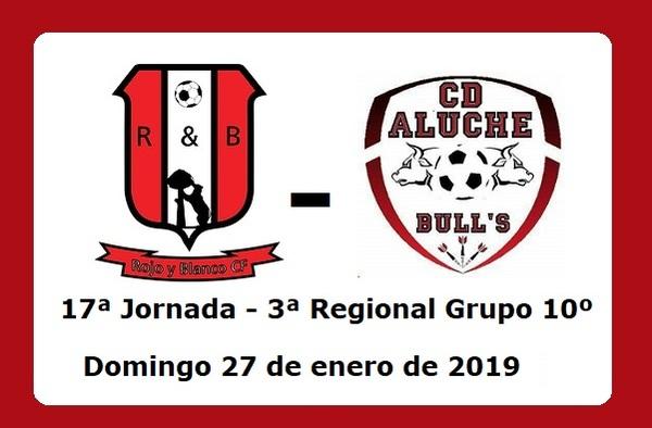 Rojo y Blanco CF- CD Aluche Bull´s, esperado derbi en el Polideportivo de Aluche