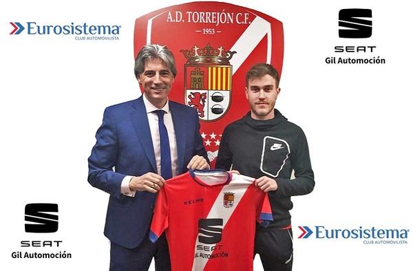 Dani Fernández anunciado como nuevo jugador del A.D. Torrejón C.F.