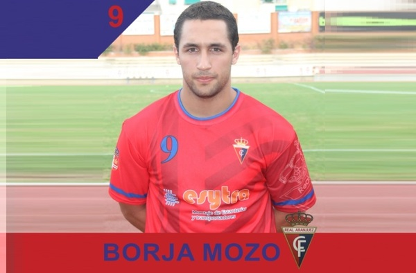 Borja Mozo, fichaje para la delantera del Real Aranjuez CF