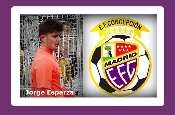 Jorge Esparza se une a su hermano en el proyecto de la E.F. Concepción en Preferente