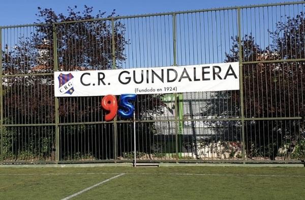 95ª Aniversario C.R. Guindalera, ¡ con la ilusión de un niño !
