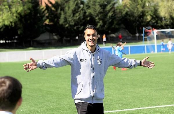 David González, un entrenador fiable y con solvencia en la cantera de la EDM San Blas