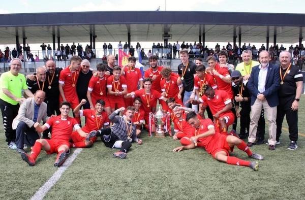 Madrid se corona Campeona de España con la Selección Sub-18 masculina en Valdepeñas al ganar a Murcia por 1-3