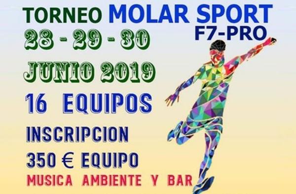 Torneo Molar Sport F7 Pro - Del 28 al 30 de Junio de 2019 (El Molar)