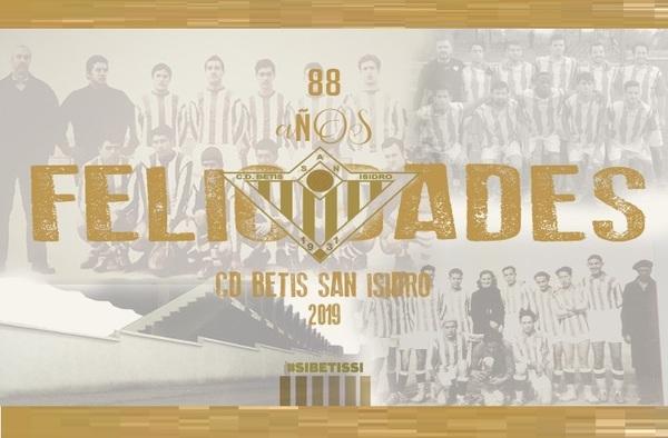 El C.D. Betis San Isidro celebró su 88º Aniversario el pasado 14 de abril