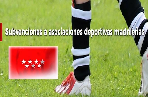 Ayudas de la Comunidad de Madrid para Asociaciones Deportivas Madrileñas - 2019
