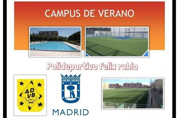 Campus de Verano A.D. Villaverde Bajo - 3 semanas (Finales de Junio a mediados de Julio de 2019)
