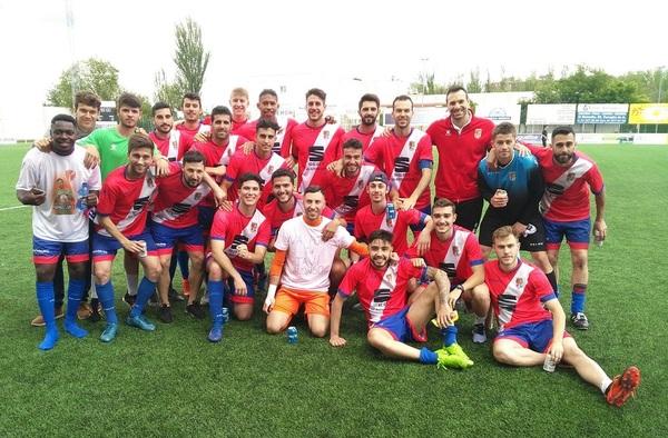 Tras cuatro temporadas en Preferente la A.D. Torrejón C.F. logra el ascenso a Tercera División