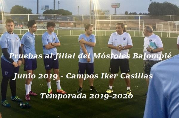 El filial del Móstoles Balompié busca refuerzos para la próxima temporada 2019-2020