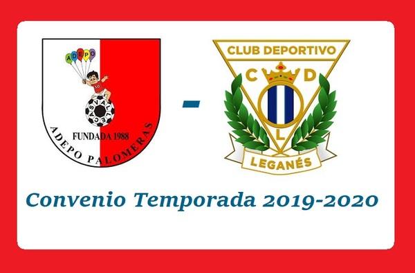 El Adepo Palomeras y el C.D. Leganés llegan a un Convenio de Colaboración para la temporada 2019-2020