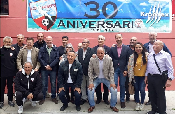 Festivo 30ª Aniversario de la E.F. Mar Abierto coincidiendo con el final de la Liga de Chupetines