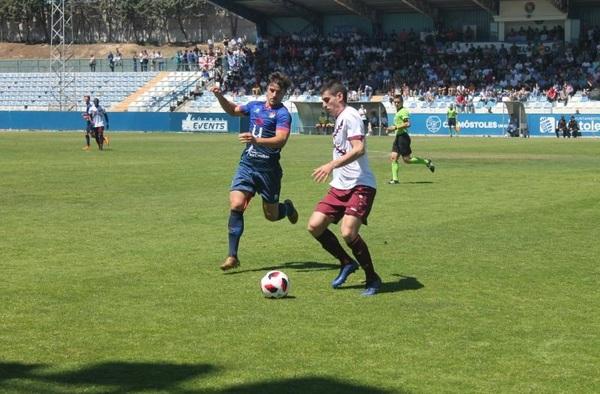 Playoff Ascenso 2ª B: C.D. Móstoles URJC 1 - 0 Peña Sport ( Ida - Temporada 2018/19 -1ª ronda)