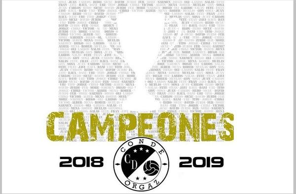 Conde Orgaz campeón del grupo 6 de la Tercera Regional madrileña