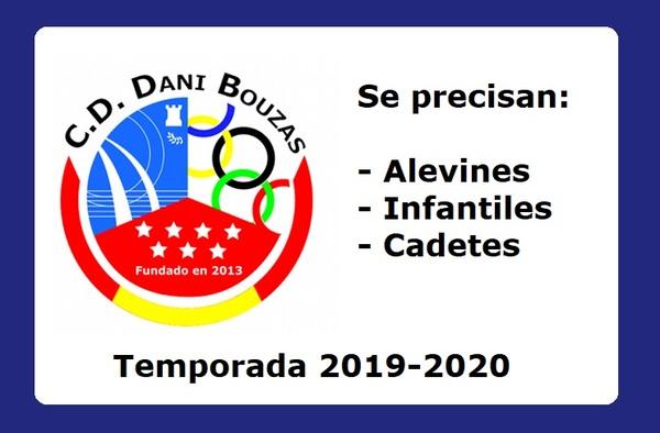 El C.D. Dani Bouzas abre inscripción para la Temporada 2019-2020