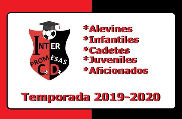Abiertas las inscripciones en el C.D. Inter Promesas para la Temporada 2019-2020