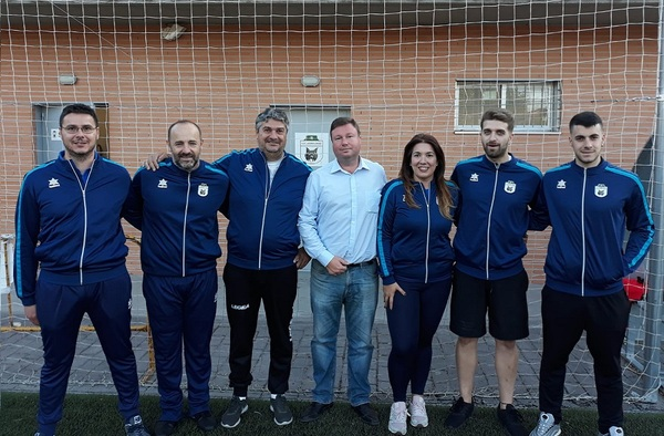 Presentación Cuerpo Técnico del C.D. Lucero-Linces para la temporada 2019/20