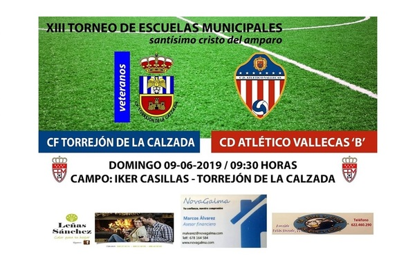 "El C.D. Atlético Vallecas ""B"" fué invitado al torneo del C.F. Torrejón de la Calzada"