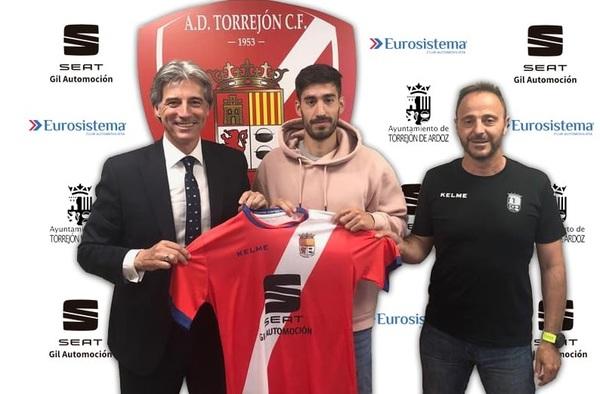 Pablo Rojo, nuevo fichaje de la A.D. Torrejón C.F. para la temporada 2019-2020