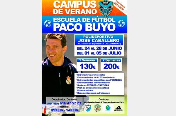 Campus de Verano de la Escuela de Porteros Paco Buyo en Alcobendas - Del 24 de Junio al 5 de Julio de 2019