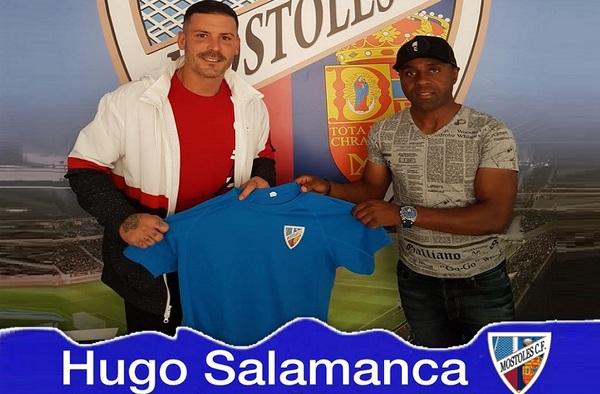 Hugo Salamanca, primer fichaje del nuevo proyecto del Móstoles C.F. para la temporada 2019/20