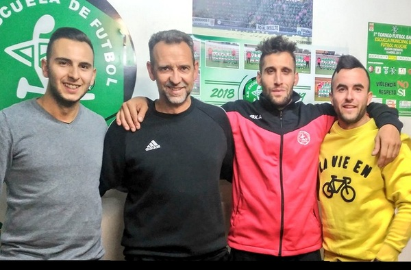 El cuerpo técnico de la EMF Aluche con Mario Escuer a la cabeza, renovados para la temporada 2019/20
