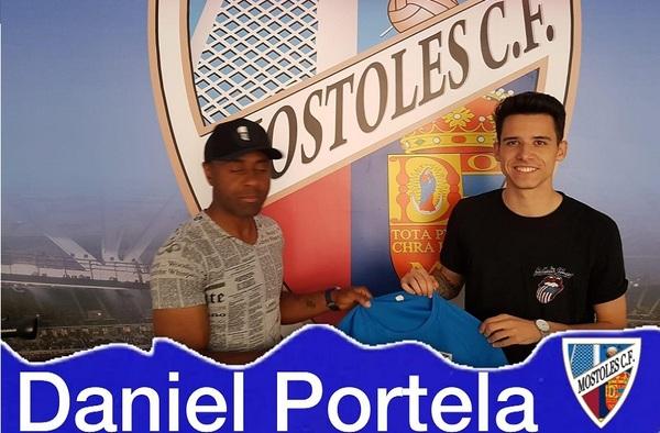 El Móstoles C.F. informa del fichaje de Dani Portela para la temporada 2019/20