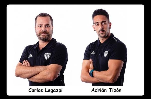 Nueva etapa del C.D. Paracuellos, llegan al banquillo Carlos Legazpi y Adrián Tizón