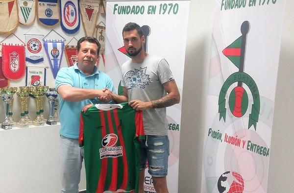 Luis Jiménez, cuarto refuerzo del C.D. Fortuna para la temporada 2019/20