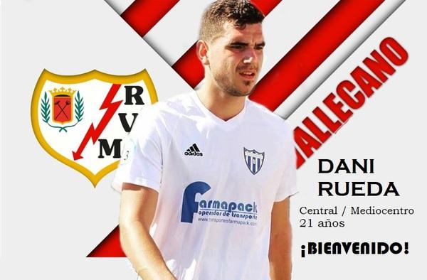 """Dani Rueda y Marc Echarri, dos nuevos jugadores para el Rayo Vallecano """"B"""" del técnico Ángel Dongil"""